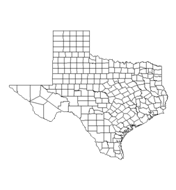 Counties Map Of Texas.Tac About Texas Counties Functions Of County Government